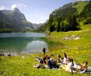 Літній канікулярний курс для дітей у Швейцарії