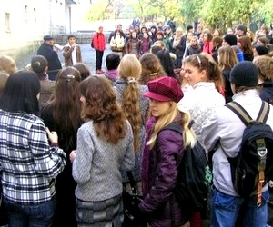 Студенти протестують проти ліквідації вузу