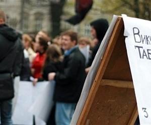 Тисячі студентів КПІ вимагали зустрічі з міністром освіти