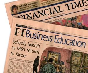 Глобальний рейтинг MBA 2012 від Financial Times