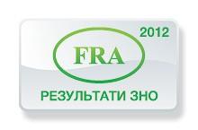 Французька мова. Результати ЗНО 2012 року