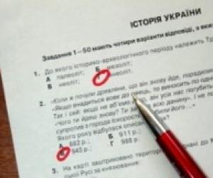 У тесті з історії України знайшли помилки
