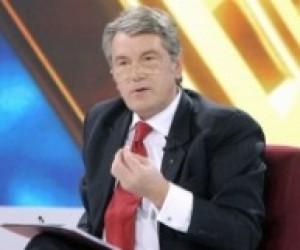 Ющенко: Сьогодні жодна гривня не іде на молодіжні програми