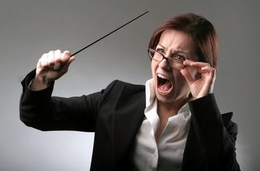 Вчителька знущається з першокласників (аудіо)