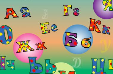 Вивчаємо великі та малі літери української абетки