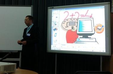Презентація інтерактивних дошок на освітній виставці