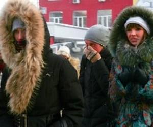 Через сильний мороз донецьких школярів відправляють додому