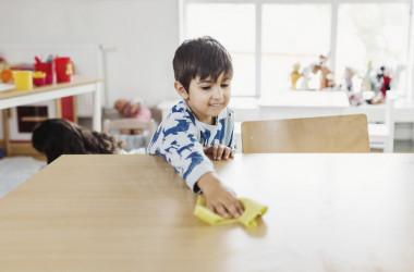 Чи повинні учні регулярно прибирати шкільні приміщення?
