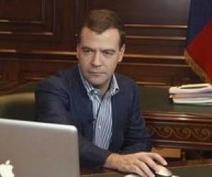 Президент Медведєв: українських міністрів необхідно перевірити на уміння користуватися комп'ютером