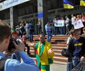 Донецькі студенти продемонстрували негативне ставлення до Табачника