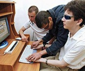 Сліпим дітям подарували можливості сучасних технологій